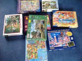 Lots of jigsaws