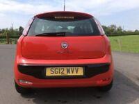STUNNING 2012 Fiat Punto Evo. FULL YEARS MOT May-2019. Only 49,000 miles. FSH, P/X Considered....