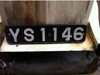 Cherished number YS 1146