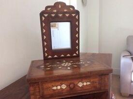 Original Jewlery Box with Mother of Pearl