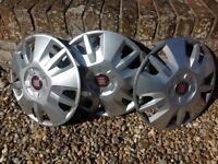 Wheel covers for a Autocruise Camper