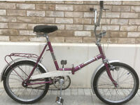 Retro Universal folding bike fold up bicycle