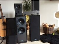 Tannoy dc2000, mission 780i and a Nad amp.