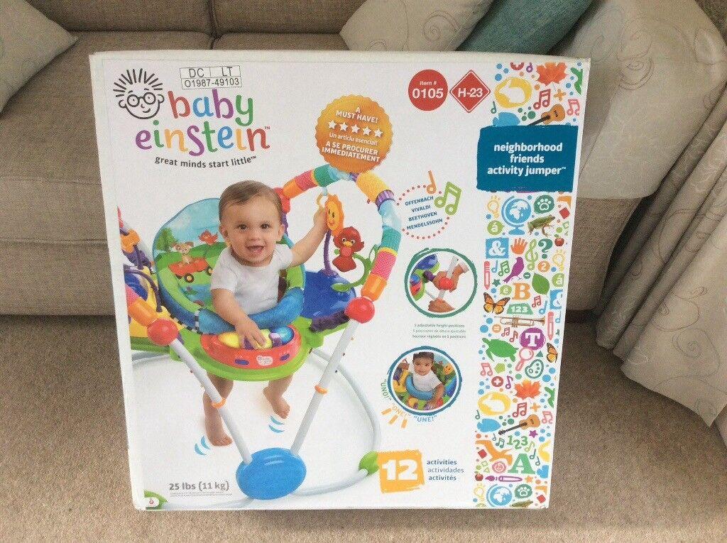 88c53727d Baby Einstein neighbourhood friends activity jumper.