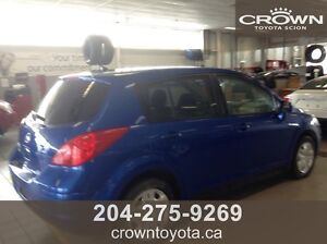 2009 NISSAN VERSA S HATCHBACK! LOCAL TRADE IN WITH LOW KMs! @ C