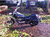 skygo 250 chopper with rear bags 2008