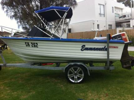 Compass Craft 15ft boat incl. trailer Athelstone Campbelltown Area Preview