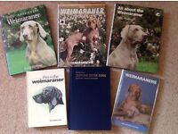 WEIMARANER BOOKS