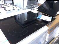 5 burner ceramic hob new graded 12 mths gtee