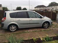 Renault grand scenic 1.9dci privileged edition spares or repairs