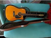 Brand New Guitar Tanglewood Nashville V TN5 DCE with hard case