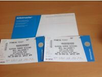 2 x Noel Gallagher / Richard Ashcroft Glasgow Summer Sessions Tickets (Friday 26th August)