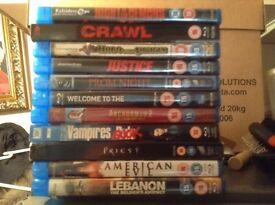 11 Blu ray discs