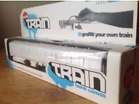 Graffiti Train - Blank Canvas. Art