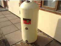 Copper indirect cylinder