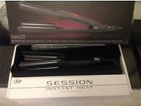 Diva session professional hair waver dance comp? used once half price