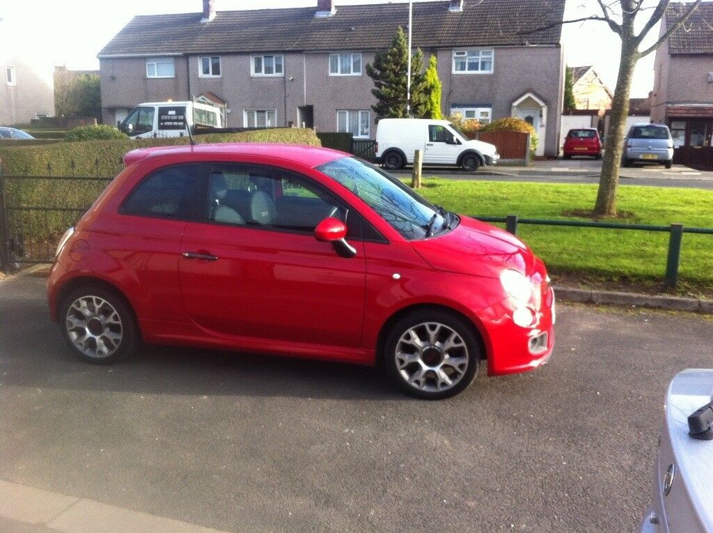 Fiat 500s... immaculate car cleaned weekly