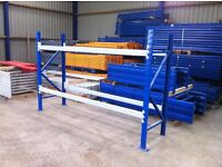 APEX HEAVY DUTY INDUSTRIAL COMMERCIAL WAREHOUSE GARAGE LONGSPAN PALLET RACKING
