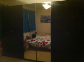3 big Wardrobes, 2 chest of drawers and 2 bedside tables