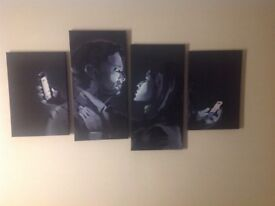 "Canvas wall print 50"" x 27"""