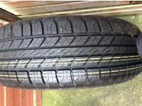 Landrover freelander 2 new full size spare wheel tyre