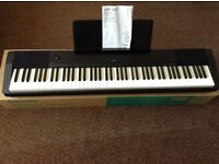 Casio CDP-120BK Digital Piano and Accesories