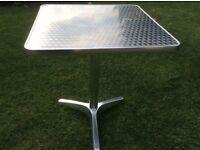 Ikea Aluminium Table