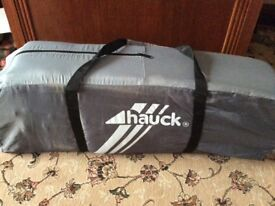 Hauck grey travel cot