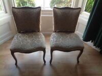 2 antique chairs for sale