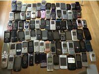 Job Lot 112 x Mobile Phones working/untested samsung nokia sony ericsson Lg blackberry Motorola