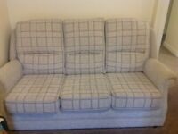 3seater sofa and one chair