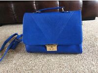Large New Look Blue bag unwanted gift NWOT