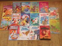 16 Walt Disney Children's Books for £8 or 50p each