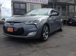 2013 Hyundai Veloster w/Tech, MANUAL, SUNROOF, NAVI, LEATHER