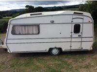 Cheap, lovely vintage classic 2 berth Carlight caravan. Retro. Glamping. Old. Tows well