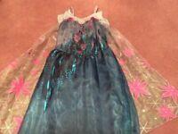 Disney Elsa Dress Age 7-8