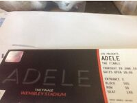 Adele finale tickets today Thursday x2 £220.