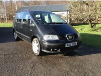 Seat Alhambra 7 seats driving well