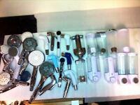 Job lot of BRAND NEW QUALITY bathroom accessories 30 items shower head soap dispenser douche spray