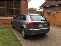 Audi A3 1.4tfsi with Full Service History in gun metal grey