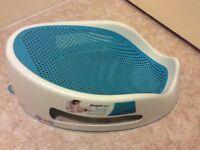 Angelcare blue baby bath seat