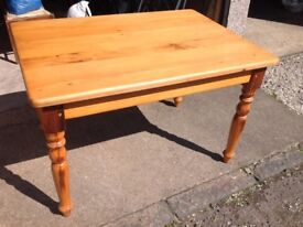 Kitchen Table Made From South African Yellowwood