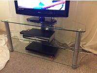 Glass TV Stand **NEEDS TO GO THIS WEEK**