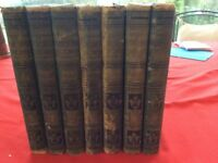 Cassell's Encyclopaedia. Old, collectable books Volume 1-7 hard cover 1908 by Cassell ( Author)