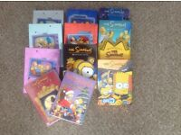 DVD BIX SETS THE SIMPSONS SERIES 1 to 10