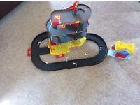 Garage/ parking lot and car wash toddler toys