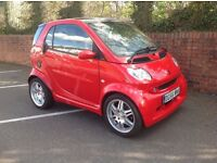 2006 Smart Brabus Red edition 1 of onlt 50 made.. very rare car