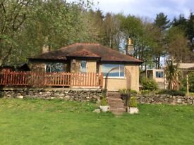 Detached 2 bedroom cottage just 10 mins from Hawick surrounded by garden & woodland.