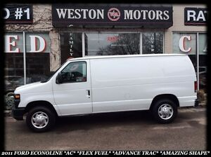 2011 Ford Econoline E-150 *AC *ADVANCED TRAC *FLEXFUEL *AMAZING
