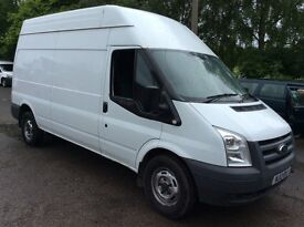 Ford Transit Long Wheel Bace High Top 2012